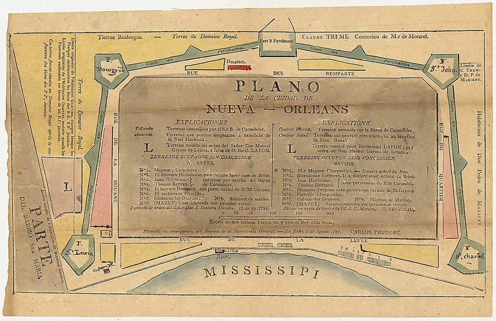 Map of New Orleans