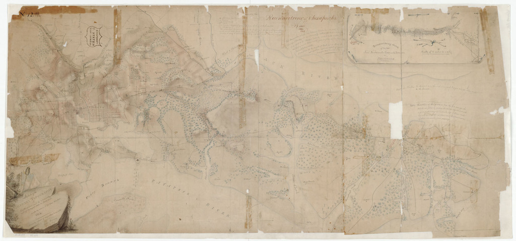 A Sketch of the Military Topography of Baltimore and its Vicinity and of Patapsco Neck to North Point