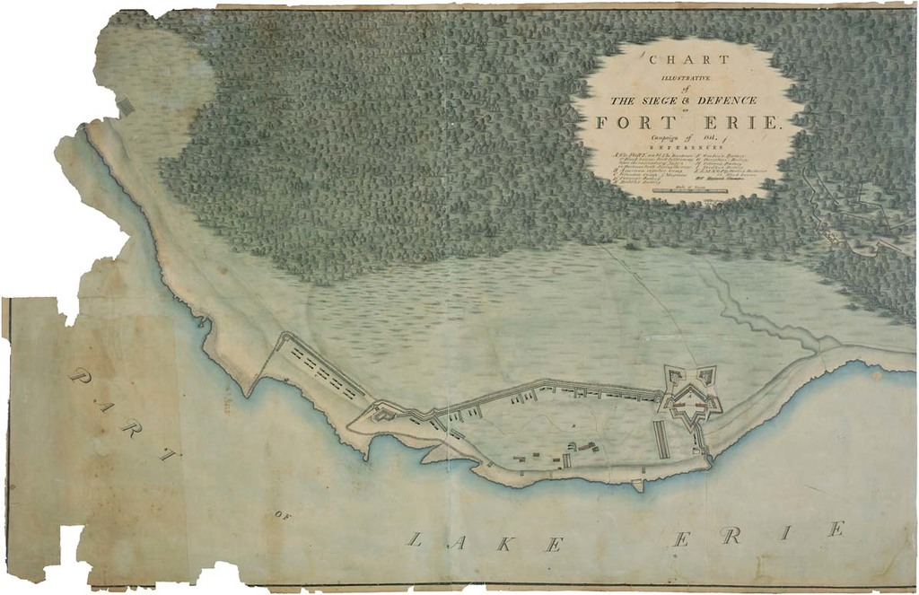 Chart of the Siege and Defense of Fort Erie