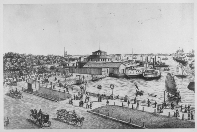Ellis Island, NY: Castle Gardens as an Immigration Center between 1855-1892