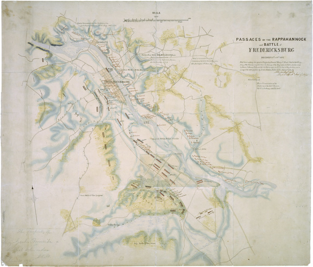Passages of the Rappahannock and the Battle of Fredericksburg
