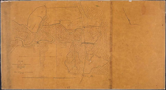 Plan of Intrenchments & Vicinity west of & near Beaufort, S.C., Office of Topographical Corps, N.Y. Vol. Eng's., Feb. 1863