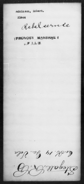 Adkinson, Robert - State: [Blank] - Year: [Blank]