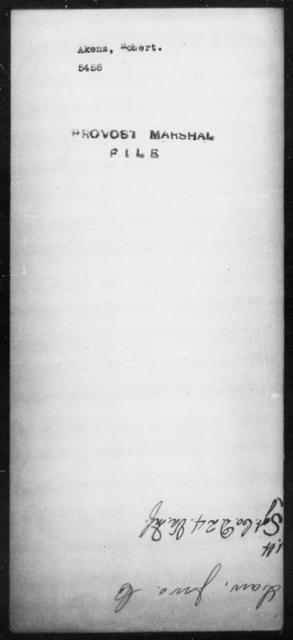 Akens, Robert - State: [Blank] - Year: [Blank]