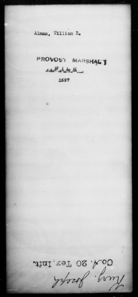 Alman, William R - State: [Blank] - Year: [Blank]