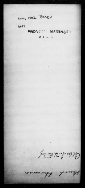 Aman, Paul - State: [Blank] - Year: [Blank]