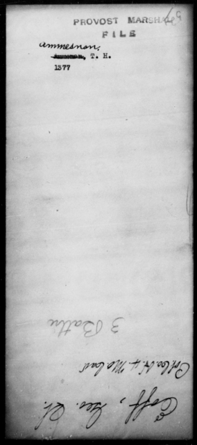 Ammesnan, T H - State: [Blank] - Year: [Blank]