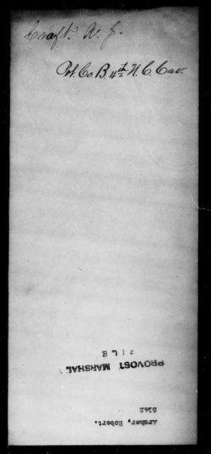 Archer, Robert - State: [Blank] - Year: [Blank]