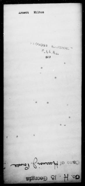 Arnett, Milton - State: [Blank] - Year: 1864
