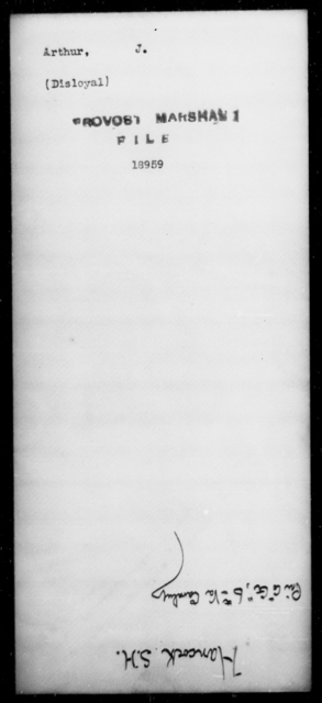 Arthur, J - State: Kentucky - Year: [Blank]