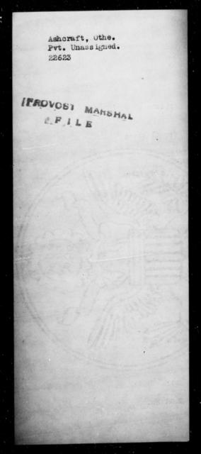 Ashcraft, Othe - State: [Blank] - Year: [Blank]