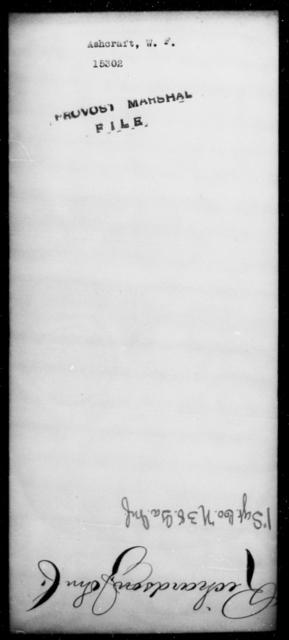 Ashcraft, W F - State: [Blank] - Year: [Blank]