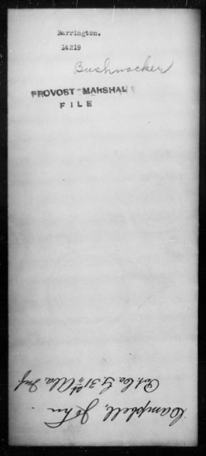 Barrington, [Blank] - State: [Blank] - Year: [Blank]