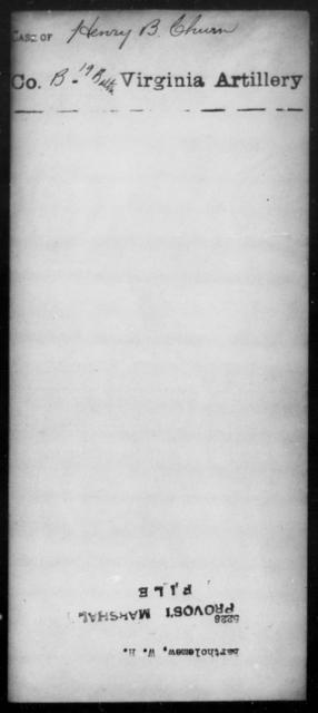 Bartholemew, W H - State: [Blank] - Year: [Blank]
