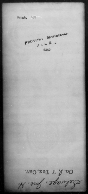 Baugh, Bob - State: [Blank] - Year: [Blank]