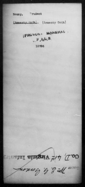 Baurg, Prudent - State: [Blank] - Year: [Blank]