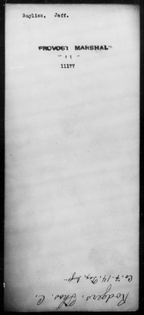 Baylis, Jeff - State: [Blank] - Year: [Blank]