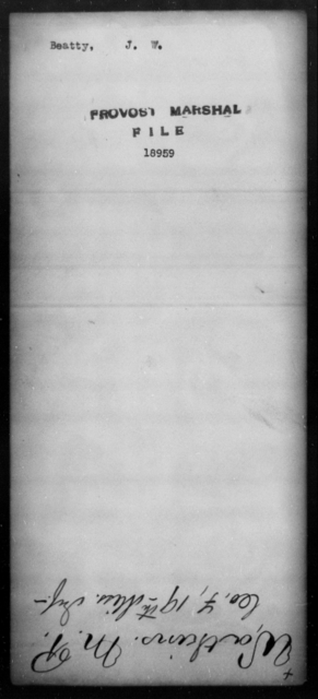 Beatty, J W - State: [Blank] - Year: [Blank]