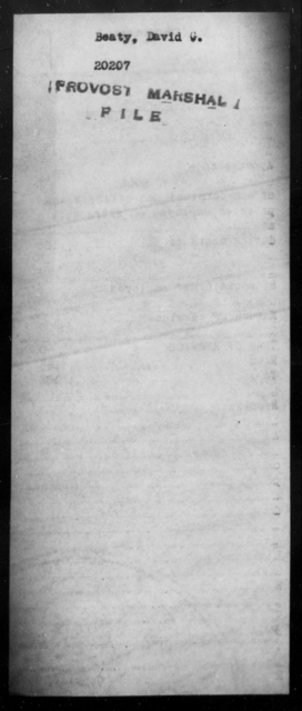 Beaty, David G - State: [Blank] - Year: [Blank]