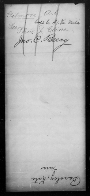 Beery, Jno - State: Virginia - Year: 1864