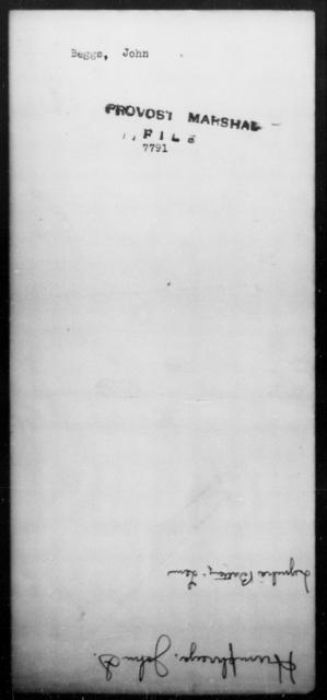 Beggs, John - State: [Blank] - Year: [Blank]