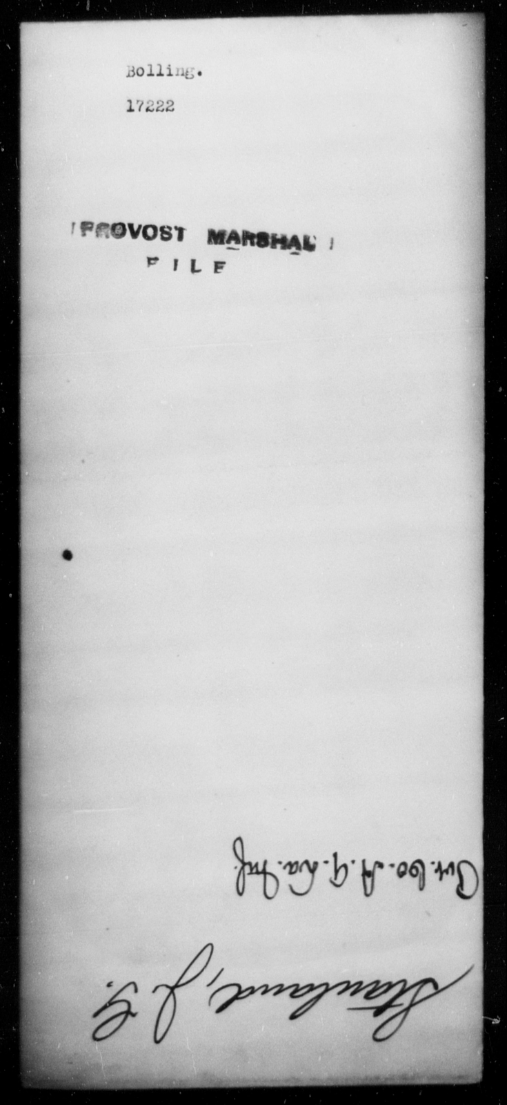 Bolling, [Blank] - State: [Blank] - Year: [Blank]