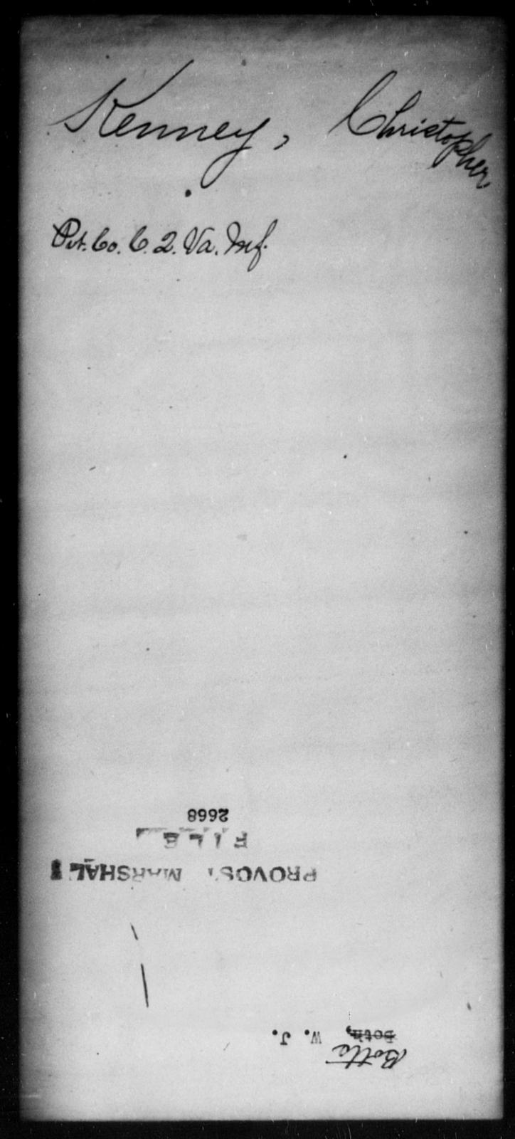 Botts, W J - State: [Blank] - Year: [Blank]