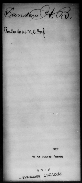 Bowen, Barton W S - State: [Blank] - Year: [Blank]
