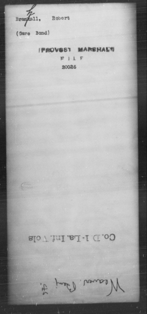 Bramhall, Robert - State: [Blank] - Year: [Blank]