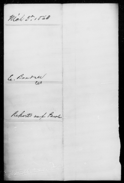 Bredell, Edwd - State: [Blank] - Year: 1863