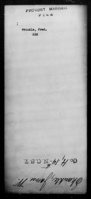 Brindle, Fred - State: [Blank] - Year: [Blank]