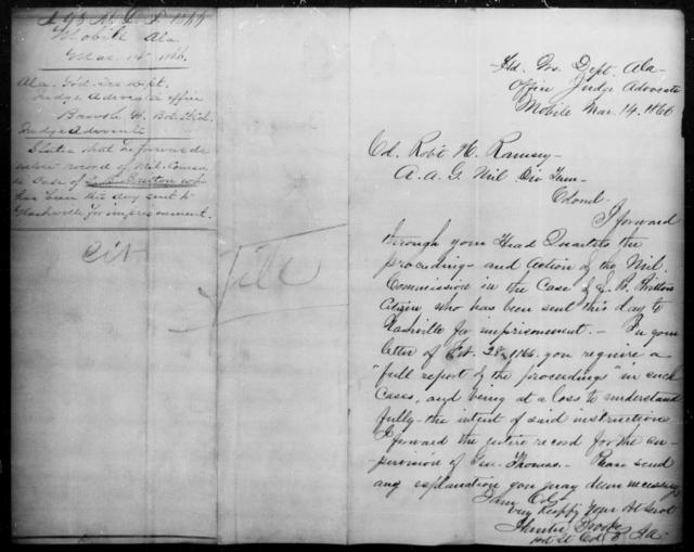 Britton, D B - State: Maryland - Year: 1861