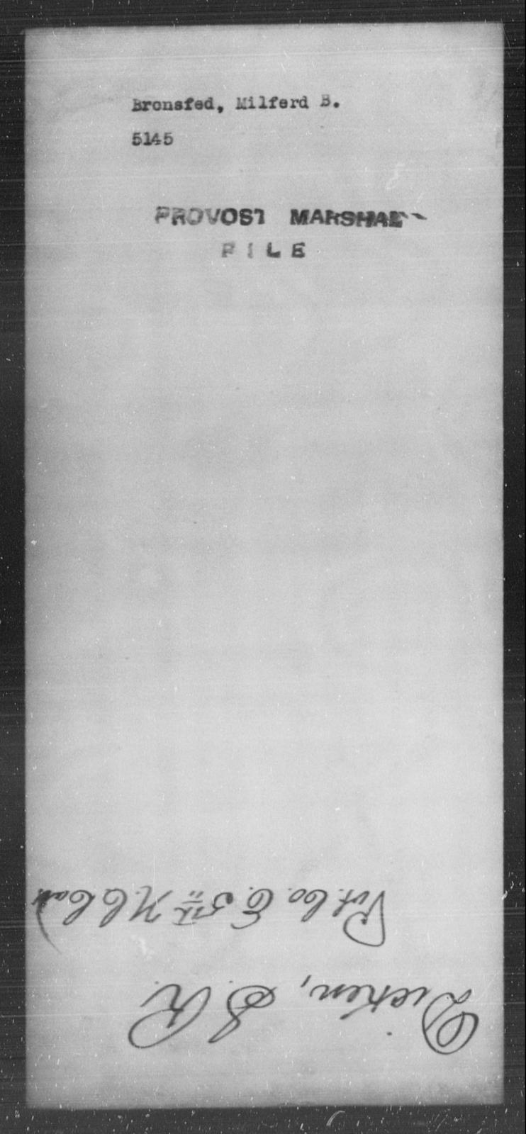 Bronsfed, Milfred B - State: [Blank] - Year: [Blank]