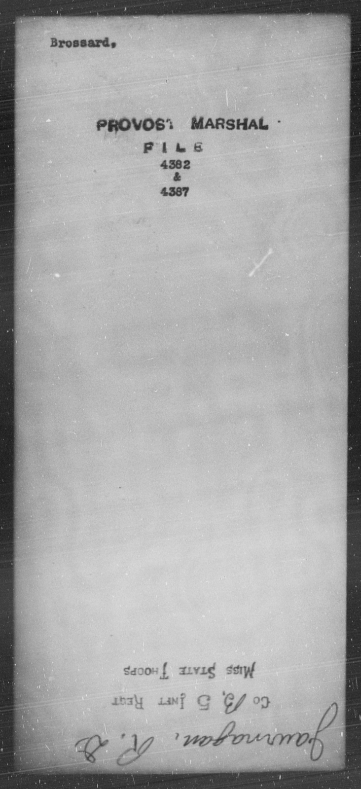 Brossard, [Blank] - State: [Blank] - Year: [Blank]