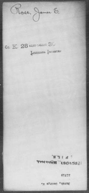Burch, George W - State: [Blank] - Year: [Blank]