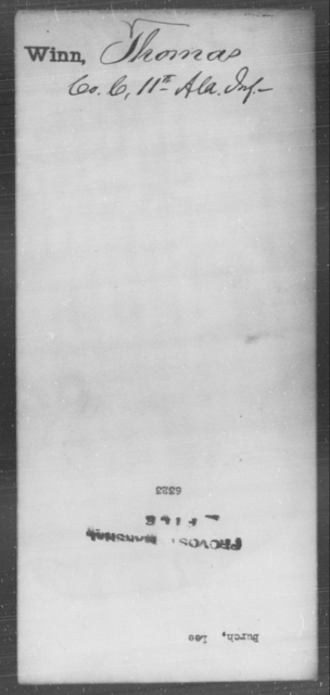 Burch, Lee - State: [Blank] - Year: [Blank]