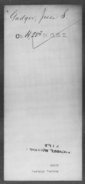 Burgen, Bridget - State: [Blank] - Year: [Blank]