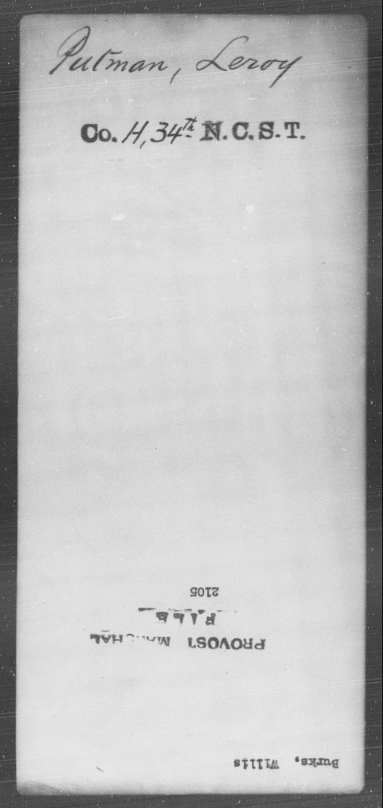 Burka, Willis - State: [Blank] - Year: [Blank]