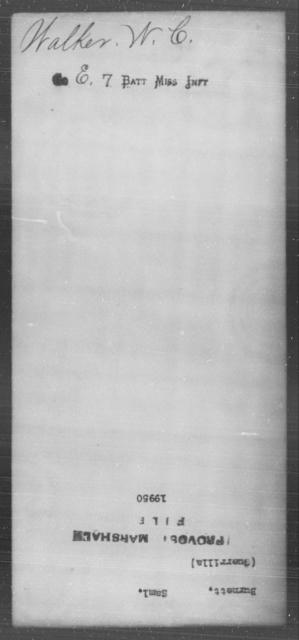 Burnett, Saml - State: [Blank] - Year: [Blank]