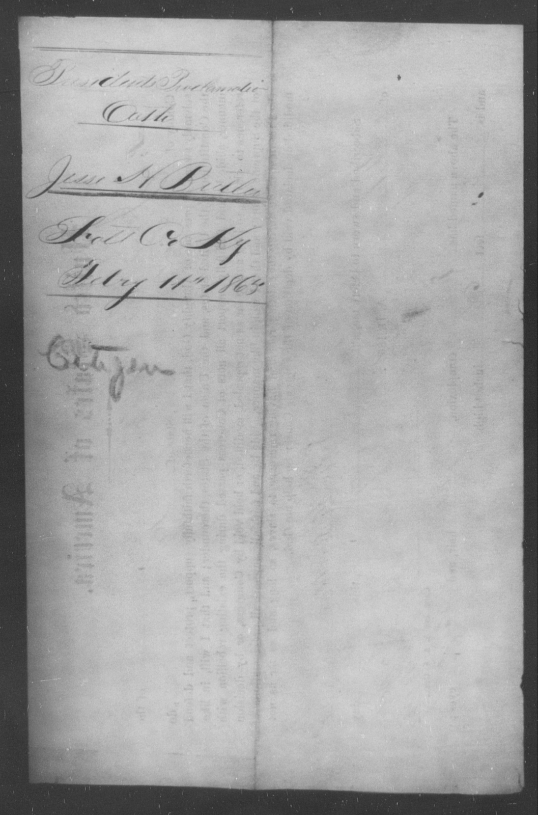 Butts, Jesse H - State: Kentucky - Year: 1865