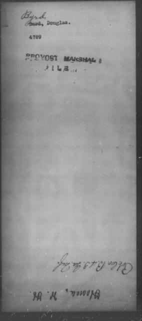 Byrd, Douglas - State: [Blank] - Year: [Blank]