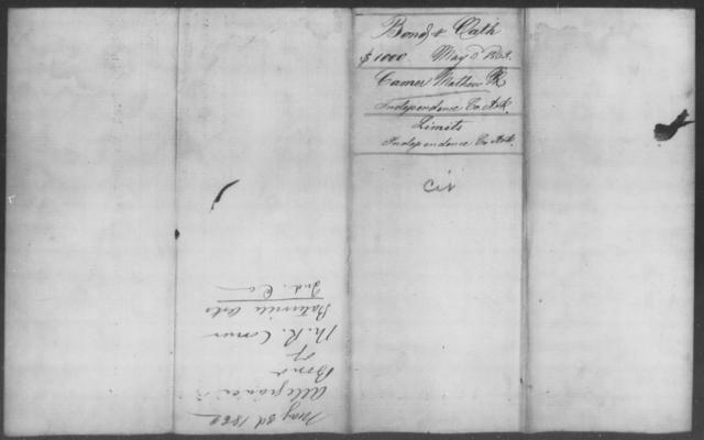 Camer, Mathew - State: Arkansas - Year: 1862
