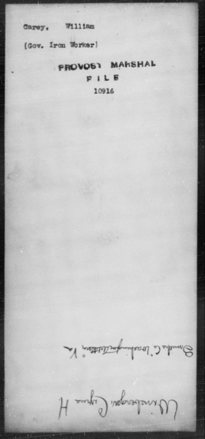 Carey, William - State: [Blank] - Year: [Blank]