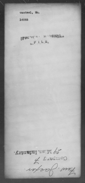 Casteel, Wm - State: [Blank] - Year: [Blank]
