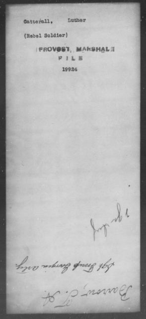 Catterall, Luther - State: [Blank] - Year: [Blank]