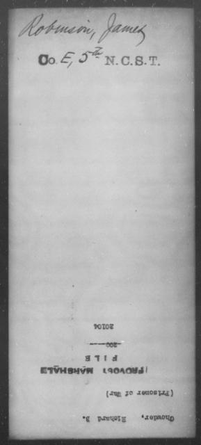 Chowder, Richard B - State: [Blank] - Year: [Blank]