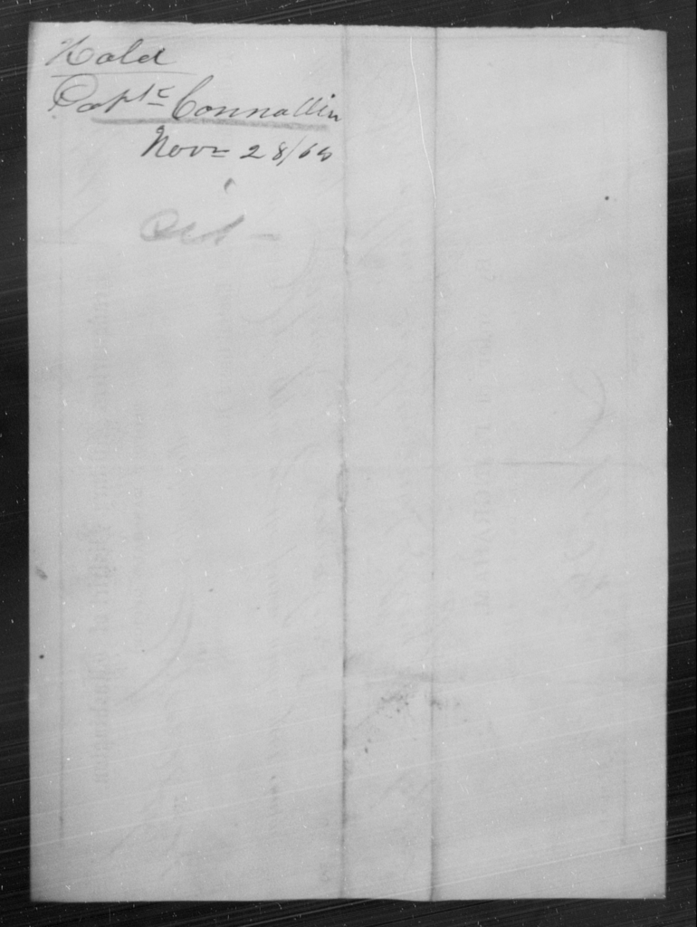 Connallin, Pork - State: [Blank] - Year: 1864