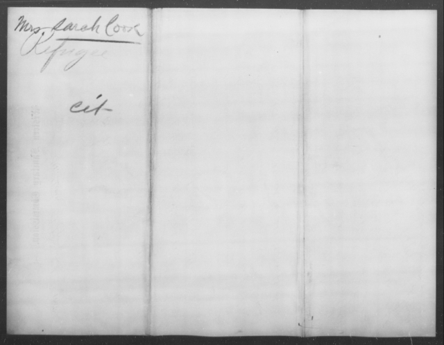 Cook, Sarah - State: Illinois - Year: 1862