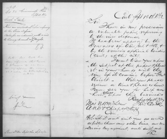 Cook, Theod - State: Ohio - Year: 1862