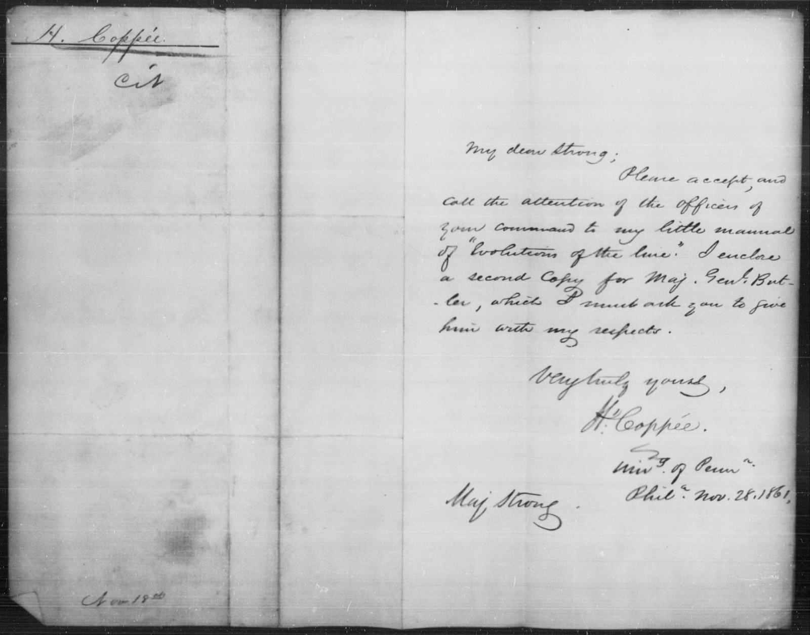 Copper, H - State: [Blank] - Year: 1861